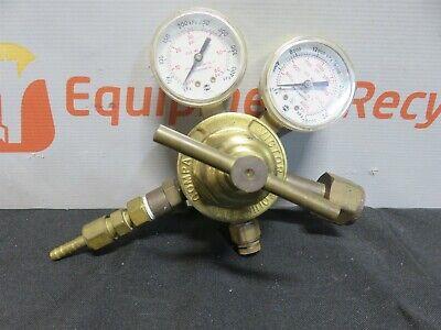 Victor Compressed Gas Regulator Sr 253 B Oxygen Dual Gauge