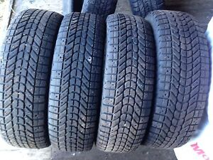 6  215/70/16 winter force snow tires
