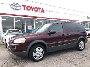 2009 Pontiac Montana SV6 Only 110018 Km's, Trade In, Well Kept