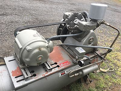 Worthington 10 Hp Air Compressor 230460 3ph Good Condition.
