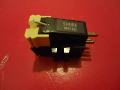 Shure M91ED Stereo Turntable Cartridge with original Hi-track stylus for sale  Shipping to India
