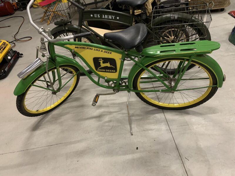 """Vintage 26"""" Boys John Deere Bicycle"""