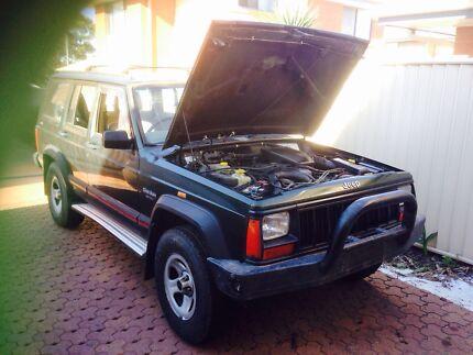 1996 xj jeep Cherokee sport Edgeworth Lake Macquarie Area Preview
