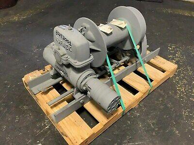 Tulsa Rufnek Winch 20000 Lbs Line Pull Hydraulic Worm Gear New Rn20wh-rfo
