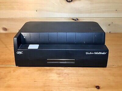 Gbc Velobinder Electric Binding Machine