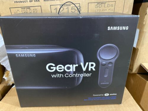 Samsung Gear VR Virtual Reality Headset W/Controller By Oculus (SM-R325NZVAXAR)