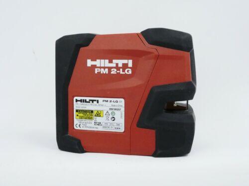 Hilti PM 2-LG Green line laser Hilti laser level with Belt Bag/Case 2 Beam Cross