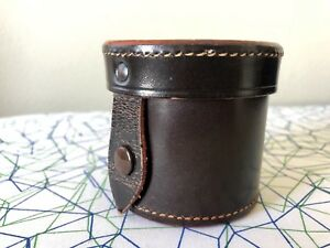Leitz / Leica Brown Leather Lens Case, Ex++