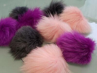 Fox Charm (Genuine  Fox Fur Furry Key Chain)
