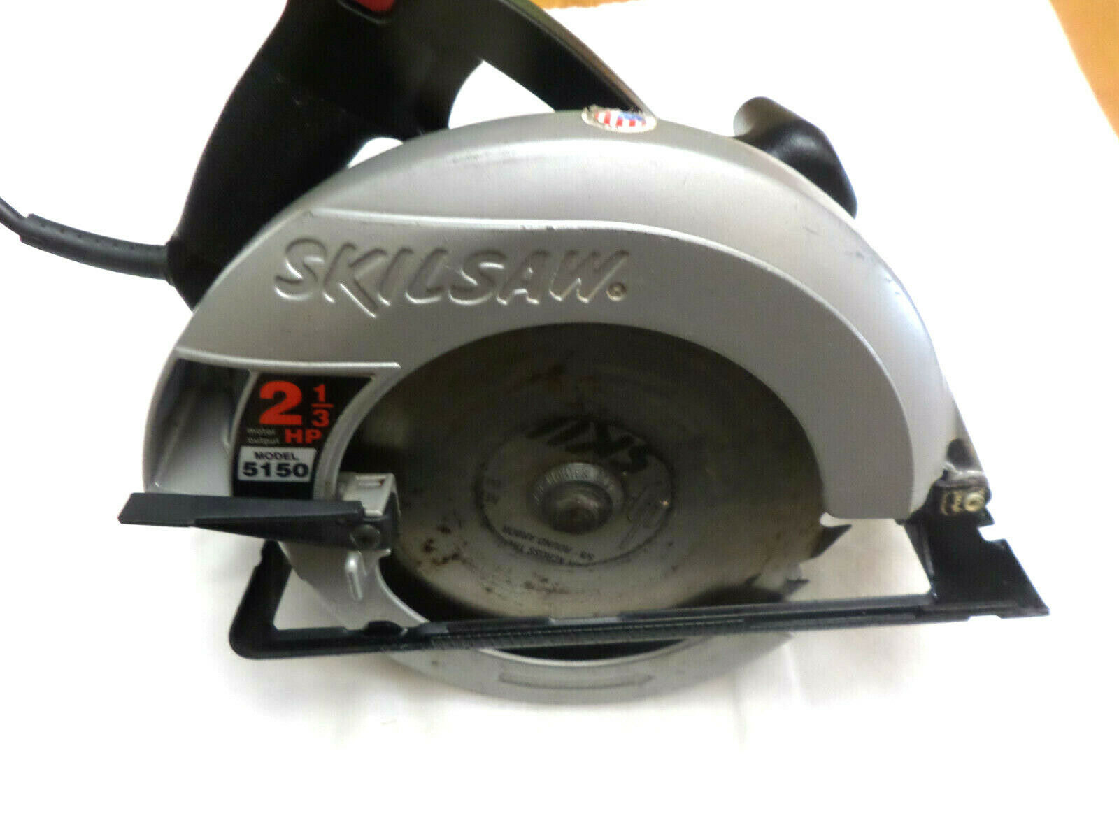 Photo Pre-owned & Tested SKILSAW #5150 2-1/3 Hp 10 amp 7-1/4