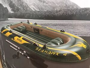 SeaHawk 11.5 X 5 ft four persons boat.