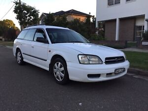 1999 Subaru Liberty Wagon (AWD) Sedan 4Months Rego