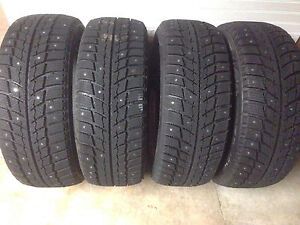 205/55R16 Winter Studded Tires. New!