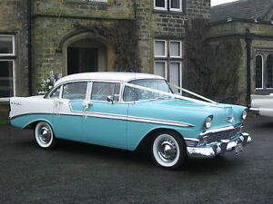 1950's Classic American Wedding Car Hire - YORKSHIRE,DERBYSHIRE,LANCASHIRE AREAS