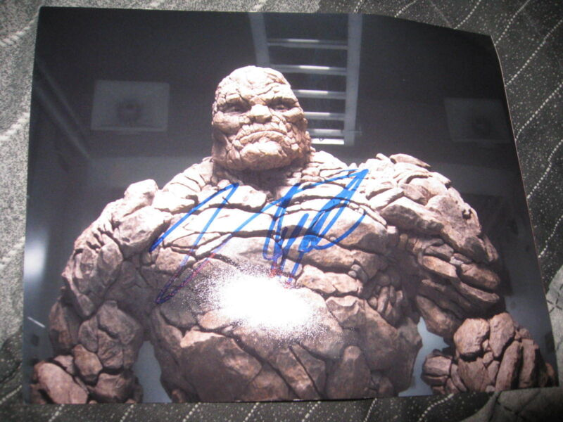 JAMIE BELL SIGNED AUTOGRAPH 8x10 PHOTO FANTASTIC FOUR THE THING MARVEL PROMO