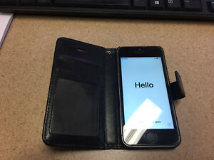 iPhone 5S 16gB with Rogers and Leather Folding Case