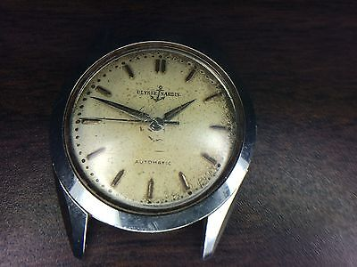 Vintage ULYSSE NARDIN Automatic Swiss Made Watch - NOT WORKING