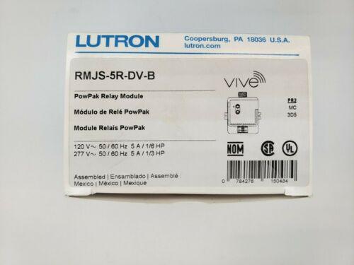 Lutron RMJS-5R-DV-B Vive PowPak 5A Relay Module