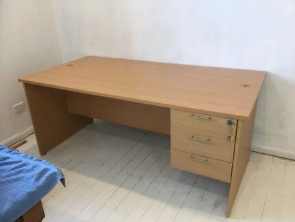 Free Large study desk 1.8m x .9m excellent condition