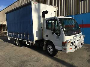 Isuzu NPR 400 Turbo Low ks 6 Pallet tautliner with RWC Craigieburn Hume Area Preview