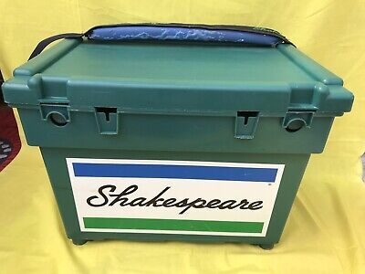 Shakespeare Seat Box Green Fishing Tackle Box