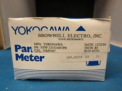 Yokogawa Panel Meter Yew-255324ecpb