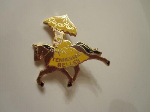 Tennessee WALKING HORSE Jaycees JAYCETTES Belles LADY Umbrella Dress SMALL Pin