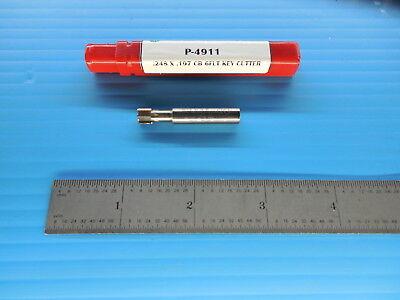 O-d Tool P-4911 .248 Dia .197 Loc 14 Shank 6 Flute Carbide Keyseat Cutter Tool