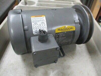 Baldor Ac Motor M3542 34hp 1800rpm 208-230460v 3.2-31.5a 60hz 56 Frame Used