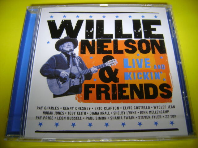 WILLIE NELSON & FRIENDS - LIVE AND KICKIN | OVP ERIC CLAPTON NORAH JONES ZZ TOP