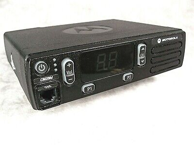 Motorola Cm200d Vhf Digital 45w Mobile Radio Wnew Accessories