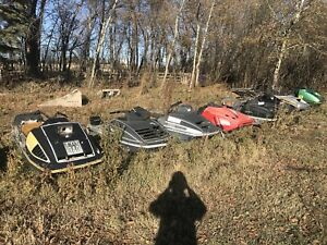 Various Snowmobiles for sale