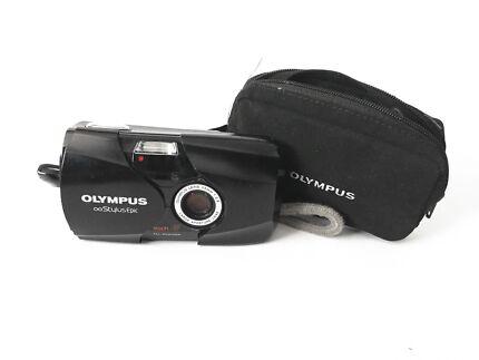 Olympus Stylus Epic Mju II 35mm F/2.8 - Black