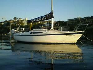 Neat Cole 23 sailing yacht
