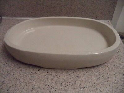 Beige Crackle Finish - Beige Ceramic Oval Dish - Oval - Crackle Finish - Spa Dish Soaps - Bath Products