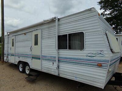 No Reserve Used Travel RV Camper Trailer Cheap Lite Needs Works REPO Rebuilt @@