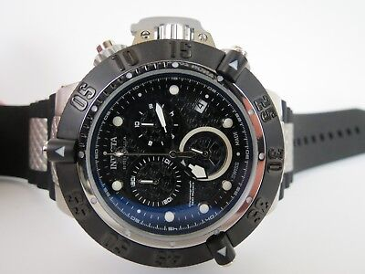 Invicta Men's Subaqua Noma III Chronograph Watch Black Dial Black Strap 90114