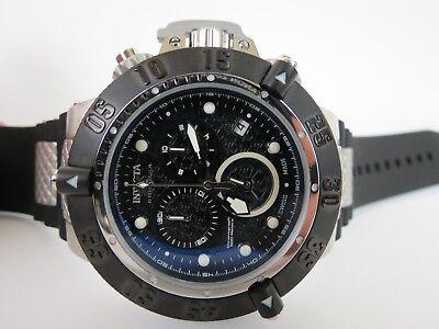 Invicta Men's Subaqua Noma III Chronograph Watch Black Dial Black Strap 90114