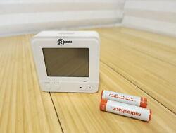 Radio Shack 6301462 Atomic Travel Compact Alarm Clock with Auto Night