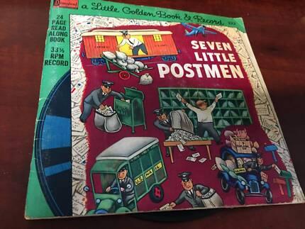 A Little Golden Book and Record, Seven Little Postmen 222