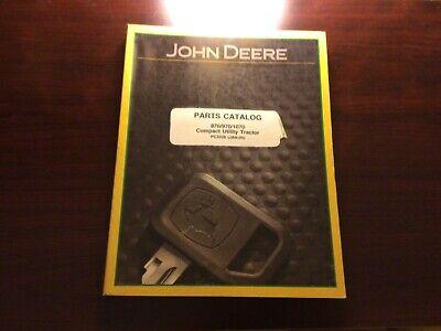 John Deere 870 970 1070 Compact Utility Tractor Parts Manual