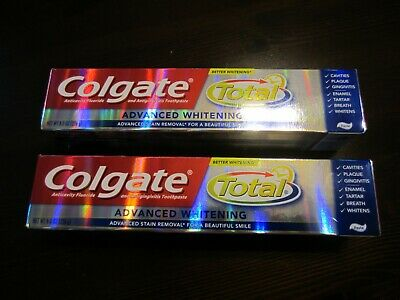 2 X 8 oz Colgate Advanced Whitening Toothpaste Better Whitening