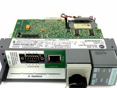 Allen Bradley 1747-l553 C Slc 500 Processor Unit Rev.c Frn.11 1747l553