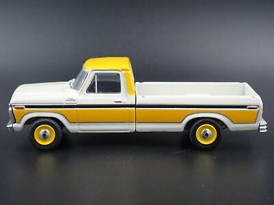 1977 77 FORD F100 LONG BED PICKUP TRUCK 1/64 SCALE DIORAMA DIECAST MODEL CAR