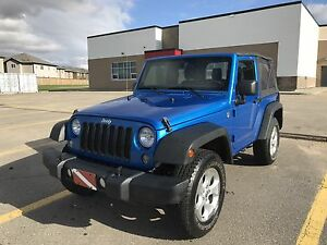 2014 Jeep Wrangler 2 Door. LOW KM! UNDER WARRANTY!