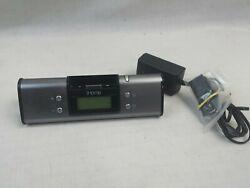 iHome IH16 Charging Dock / Alarm Clock for 30 Pin Apple iPhone,Tested.JM-0476