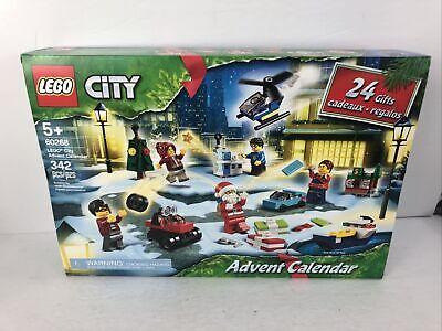 New LEGO City Christmas Holiday Advent Calendar 2020 Set 60268 FACTORY SEALED