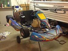 Top Kart Flash with rotax Blair Athol Campbelltown Area Preview
