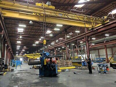 20 Ton X 42 Frontier Double Girder Top Running Overhead Bridge Crane