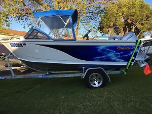 """Aluminum Boat 2016 Procraft Brand New """"never been in water"""" Honda 50HP Kearns Campbelltown Area Preview"""